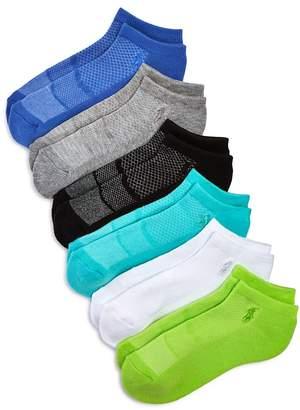 Ralph Lauren Triple-Mesh Liner Socks, Set of 6