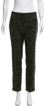 Matthew Williamson Mid-Rise Straight-Leg Pants w/ Tags