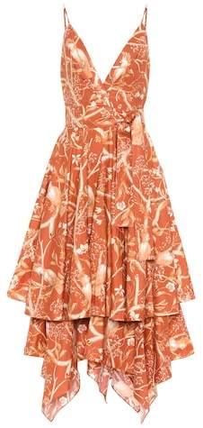 Cacatua cotton poplin dress