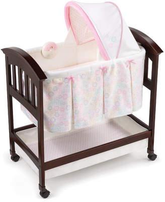 Summer Infant Classic Comfort Bedtime Blossom Wood Bassinet