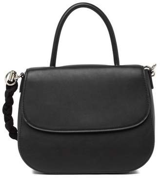 Christian Siriano New York Christina Faux Leather Top Handle Satchel