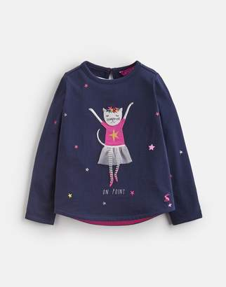 Joules Clothing Ava Applique Thirt 1yr