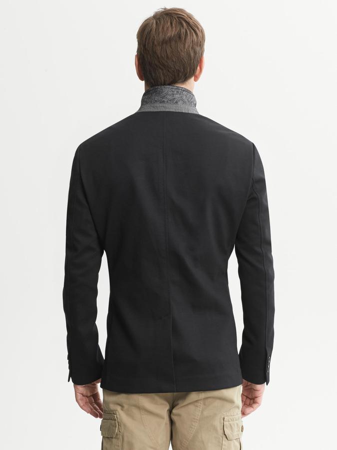 Banana Republic Tailored-Fit Ponte Knit Blazer