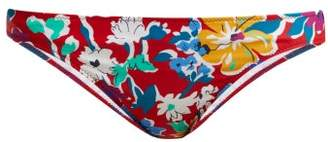 Araks Enil Liberty Printed Bikini Bottoms - Womens - Red Multi