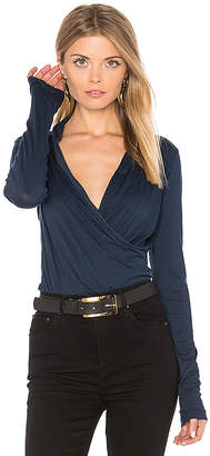 Velvet by Graham & Spencer Meri Cross Front Top