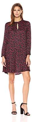 Velvet by Graham & Spencer Women's Printed Silky Challis Dress