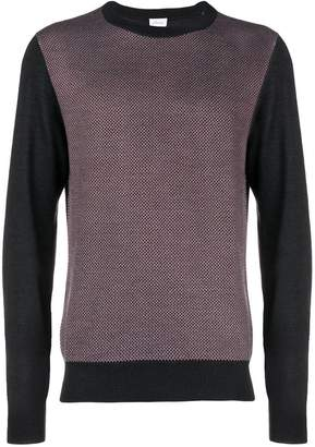 Brioni contrast sleeve jumper