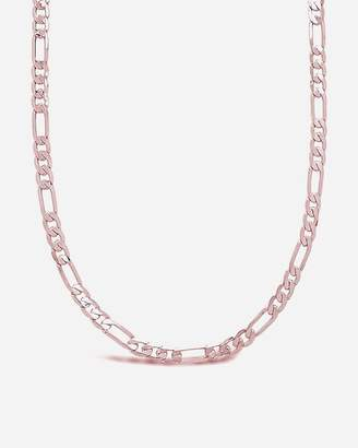 Express Sterling Forever Figaro Chain Necklace