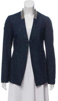 Brunello Cucinelli Embellished Denim Jacket