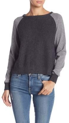 Lynk Knyt & Back Zipper Cashmere Sweater