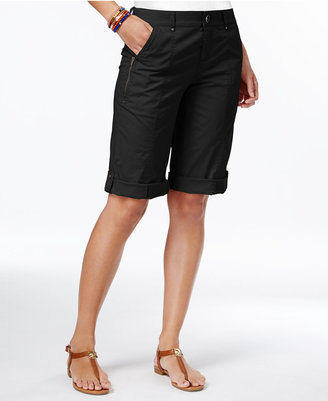 Style & Co Cuffed Bermuda Shorts, Created for Macy's $46.50 thestylecure.com