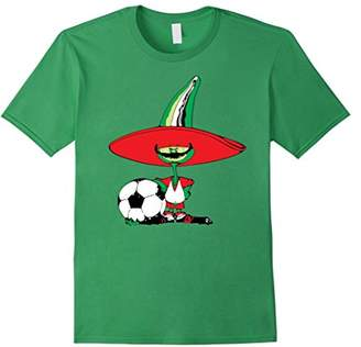Futbol Mexicano Cartoon Chile Pique T-Shirt