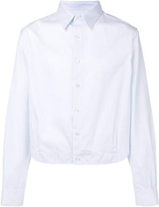 Raf Simons short length shirt