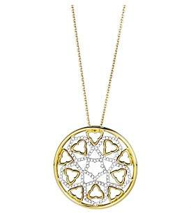 Canterbury of New Zealand Jan Logan 18Ct Diamond Pendant