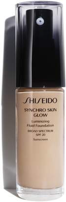 Shiseido Synchro Skin Glow Luminizing Fluid Foundation Broad Spectrum SPF 30