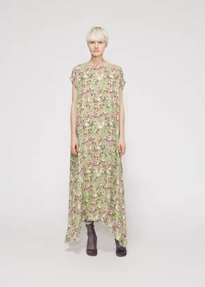 Vetements Green Flowers Summer Dress