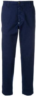 White Sand straight-cut trousers