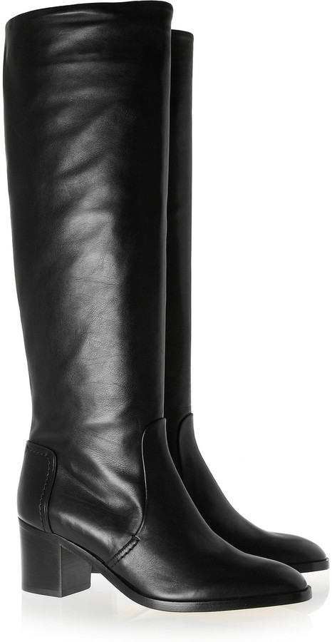 Reed Krakoff Leather knee boots