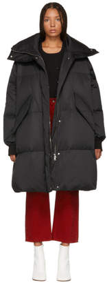 Maison Margiela Black Long Down Puffer Coat