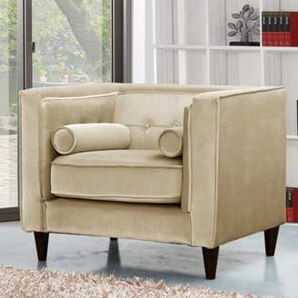 Willa Arlo Interiors Roberta Velvet Club Chair