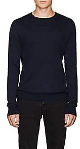 Zadig & Voltaire MEN'S JEREMY RAW-EDGE COTTON SWEATER - NAVY SIZE S