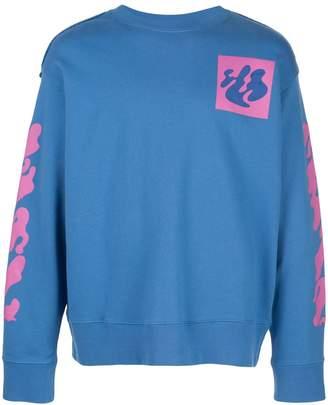 shape of incompiuto crewneck sweater