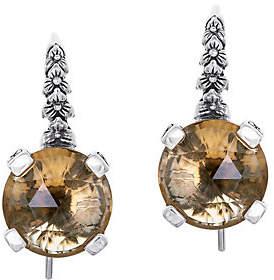 Stephen Dweck Sterling Silver and Gemstone Drop Earrings