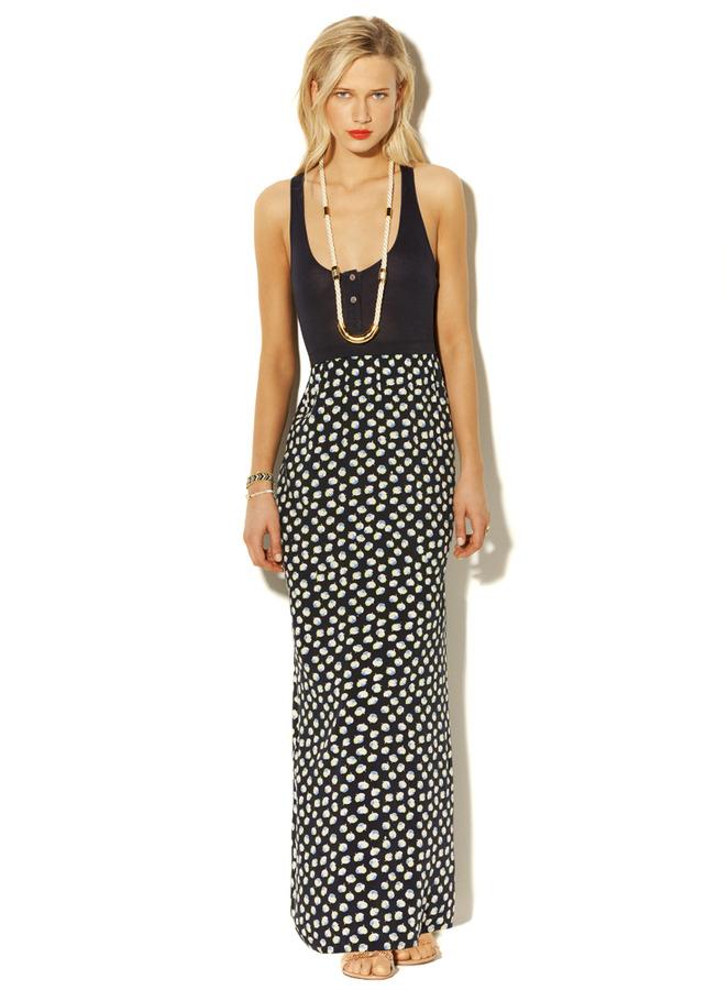 Vince Kitschy Floral Maxi Dress