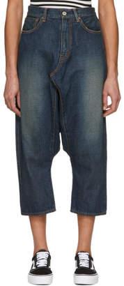 Junya Watanabe Indigo Selvedge Drop Jeans