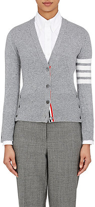 Thom Browne Women's Cashmere Striped-Sleeve Cardigan $1,690 thestylecure.com