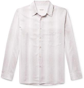 Noon Goons Snake-Print Woven Shirt