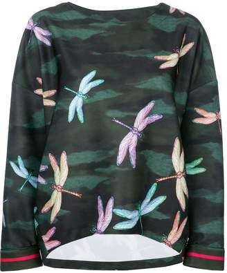 F.R.S For Restless Sleepers dragonfly print blouse