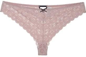 Fleur Du Mal crochet lace briefs
