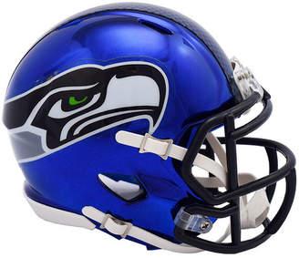 Riddell Seattle Seahawks Speed Chrome Alt Mini Helmet