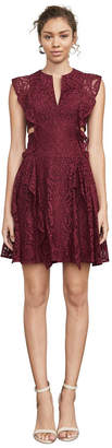 BCBGMAXAZRIA Lydia Floral Lace Dress