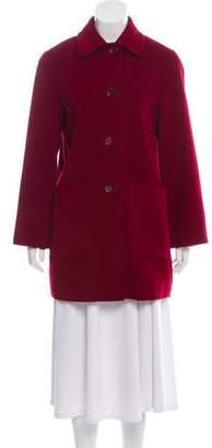 Cinzia Rocca Wool-Blend Short Coat
