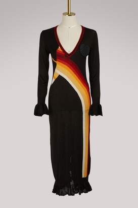Marco De Vincenzo Long-sleeved dress