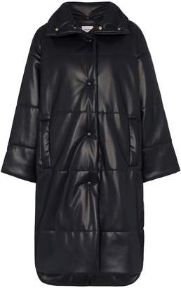Nanushka Eska oversized vegan leather puffer coat