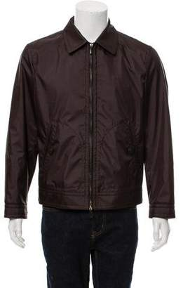 Tom Ford Woven Zip-Up Jacket