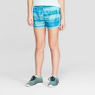 Champion Girls' Run Shorts Black