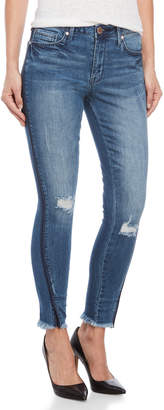 Seven7 Signature Mid-Rise Ankle Skinny Jeans