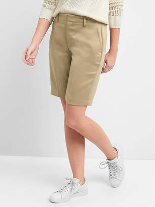 "Gap Mid Rise 10"" Tailored Bermuda Shorts"