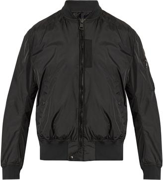 MONCLER Timothe nylon bomber jacket $800 thestylecure.com