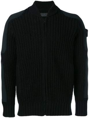Stone Island zipped fitted sweater