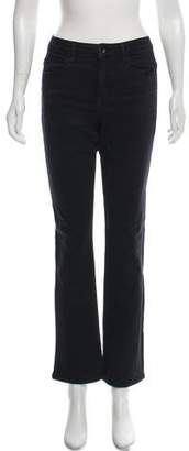 Helmut Lang Mid-Rise Cropped Jeans