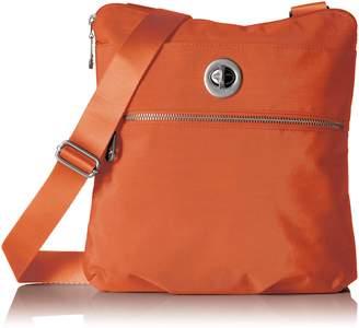 Baggallini Hanover Silver Shoulder Bag