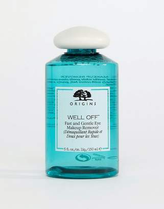 Origins Well Off Fast and Gentle Eye Make Up Remover 150ml