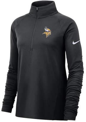 Nike Women Minnesota Vikings Half-Zip Core Element Pullover