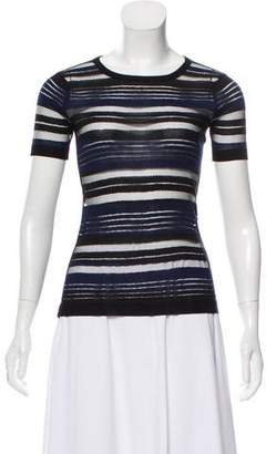 Timo Weiland Short Sleeve Knit Top