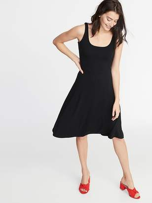 Old Navy Sleeveless Jersey Fit & Flare Dress for Women